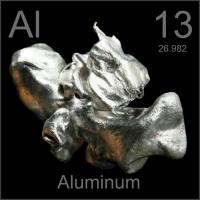необработанный алюминий